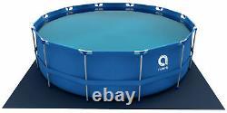 16in1 Best SWIMMING POOL 366cm 12FT Garden Round Frame Ground Pool + PUMP SET