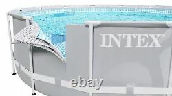 9in1 SWIMMING POOL INTEX 305cm 10ft Garden Round Frame Ground Pool + PUMP SET
