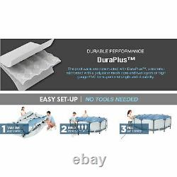 Bestway Steel Pro Max 12ft x 30in Frame Round Above Ground Swimming Pool with Pump