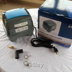 Blue Diamond ET100 Air Pump for Pond/Septic/Aquarium Now with free repair kit
