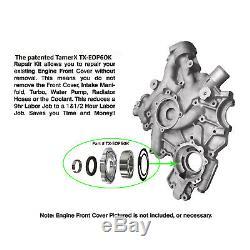 FORD 6.0L POWERSTROKE DIESEL FRONT ENGINE COVER OIL PUMP Repair Kit Gerotor