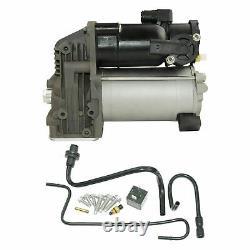 Fit for Land Range Rover Sport LR3 LR4 Air Suspension Compressor Pump+Repair Kit