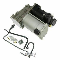 For Land Range Rover Sport LR3 LR4 New Air Suspension Compressor Pump+Repair Kit