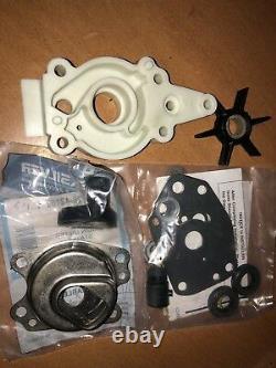 GENUINE Water Pump Impeller Repair Kit Mercury 6HP 8HP 9.9HP 10HP 15HP Outboard