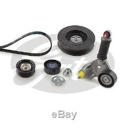 Gates Alternator V-Ribbed Drive Belt Kit K116PK1640 5 YEAR WARRANTY