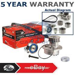 Gates Timing Cam Belt Water Pump Kit For Subaru Forester Impreza KP15612XS1