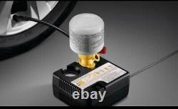 Genuine Toyota Tire fit + sealant Air Pump Tire Compressor ml kit 12V car Travel