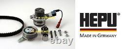 HEPU Timing Cam Belt Kit Pump Audi A3 A4 A5 Q5 TT Seat Leon Octavia 1.6 2.0 TDi