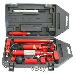 Hydraulic Hand Pump 10 Ton Hydraulic Porta Power Auto Body Frame Repair Kit