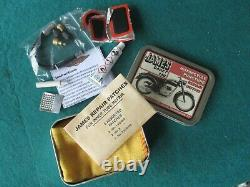James Motorcycle Toolkit, Pump & Puncture Repair Kit- State Model Required