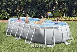 Large SWIMMING POOL Intex 610 x 305 x 122cm Garden Ground Pool +Ladder PUMP GIFT