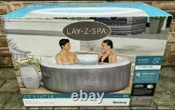 Lay-Z-Spa St Lucia Inflatable Lazy Spa FREE DELIVERY Brand New! 2021