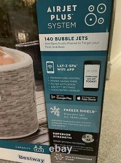 Lay Z Spa Vancouver Airjet Plus Hot Tub 2021 Model With WIFI Control
