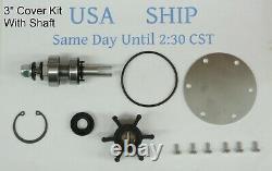 Major Rebuild Kit with Shaft for Yanmar 2YM15 3YM20 3YM30 Pump 128990-42500
