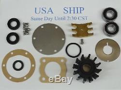 Major Repair Kit for Jabsco Pump 5850-0001 Impeller Gasket seals Bearings Plates