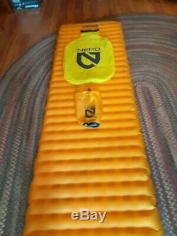 NEMO-Tensor Insulated pad. Long-wide 76x25x3 Vortec pump, stuff sack, repair kit