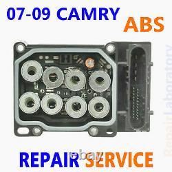 REPAIR SERVICE 2007-2009 Toyota CAMRY ABS Pump Control Module