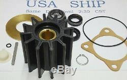 Sherwood Raw Sea Water Pump Impeller Minor Repair Kit 23972 P1712 P1727 P1730