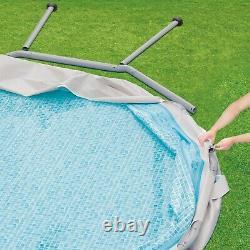 Summer Waves 14 x 42 Elite Frame Above Ground Swimming Pool+Filter/Pump/Ladder