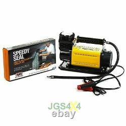 T-MAX 12V Compressor HEAVY DUTY Adventurer 4x4 Air Pump + ARB Tyre Repair Kit