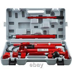 VEVOR 12 Ton Porta Power Hydraulic Jack Pump Lift Ram Body Frame Repair Kits