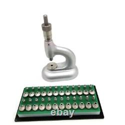 Watchmakers Jewelling Micrometric Screw Set Copy 24 Pump Pushers Repair Tools