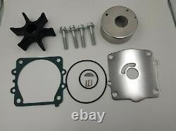 Water Pump Impeller Repair Kit 115 130 HP Yamaha Outboard 6N6-W0078 & Housing