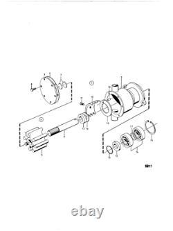Water pump repair kit for Volvo Penta TAMD40A, B AQAD40A AQAD40B TMD40C 875712