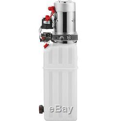 10 Pintes Double Effet Pompe Hydraulique Remorque À Déchargement 12v De Réparation Kit De Contrôle