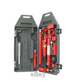 10 Tonnes Pompe À Main Hydraulique Hydraulique Porta Auto Power Body Kit De Réparation Frame