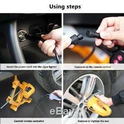 12v Électrique Hydraulique Jack Tire Pompe Clé À Chocs Gonfleur Réparation Tool Kit