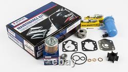 17400-89810 Oem Suzuki Water Pump Kit Repair Df9.9b Df15a Df20a 2013 Et Présent