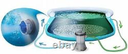 17in1 Swimming Pool Bestway 457cm 15ft Jardin Ronde Au-dessus De La Piscine Au Sol + Pump Set