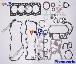 2l 2lt 2lt Overhaul Kit De Réparation Pour Les Pièces De Rechange Du Moteur Toyota Avec Pompe À Huile