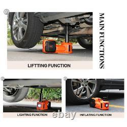 5t Électrique Hydraulique Jack & Mpact Wrench Repair Kit Lift 45cm Avec Pompe À Air Led
