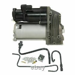 Ajustement Pour Land Range Rover Sport Lr3 Lr4 Air Suspension Compressor Pump+repair Kit