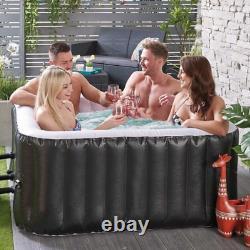 Bain À Remous Gonflable Extérieur Spa Set Jet Bubble Massage 4-5 Personne