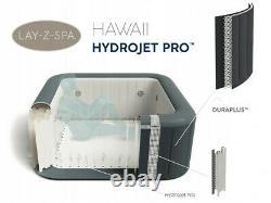 Bestway Lay Z Spa Hawaii Hydrojet Pro 2021 Toute Nouvelle Livraison De Garantie Bain À Remous