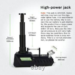 Car Jack Lift 12v 15t Electric Hydraulic Floor Jack Car Air Pump Repair Tool Kit