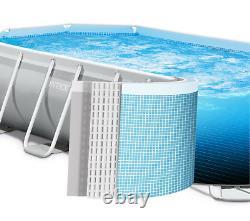 Grand Centre De Plongée 400 X 200 X 122cm Piscine De Jardin +poupe D'eau Gift