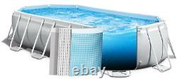 Grand Centre De Plongée 610 X 305 X 122cm Piscine De Jardin +poupe D'eau Gift