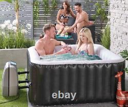 Hot Tub Gonflable Jacuzzi Extérieur Spa Set Jet Bubble Massage 4-5 Personne