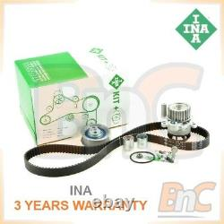Ina Heavy Duty Timing Belt Kit & Water Pump Set Vw Golf V Gti Passat B6