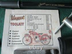 James Motorcycle Toolkit, Pump & Puncture Repair Kit- Modèle D'état Requis