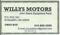 John Deere Pompe À Eau Kit Pour # Mia880048 Tracteurs / Faucheuses Compact Kit # Y10