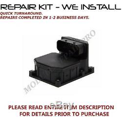 Kit De Réparation Bmw 525 525i Abs Contrôle Du Module De Pompe 2000 2001 2002 2003 Nous Installons