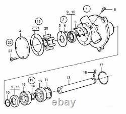 Kit De Réparation De Pompe À Eau Pour Volvo Penta 2001 2002 2003 Ro 21951414 875756