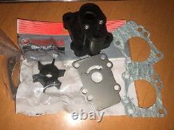 Kit De Réparation Impeller De Pompe À Eau Avec Le Logement Yamaha Mariner 9.9hp 15hp Hors-bord