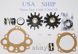Kit De Réparation Mineur 10244 Pour Sherwood Sea Water Pump M10095g N10360gx Chris Craft