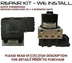 Kit De Réparation Pour 1998 2005 Mercedes Benz Ml320 430 55 500 Abs Pompe Electrovanne Pack